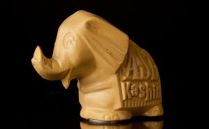 Kashin the Elephant money box - Photo credit Archives New Zealand